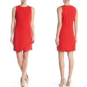 Sam Edelman Asymmetrical Crew Neck Shift Dress